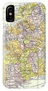 Map: Ireland, C1890 IPhone Case