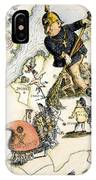 Europe: 1848 Uprisings IPhone Case