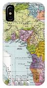 Partitioned Africa, 1914 IPhone Case
