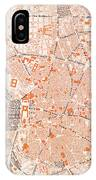 Spain: Madrid Map, C1920 IPhone Case