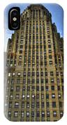 01 Buffalo Ny City Hall IPhone Case