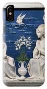 Della Robbia: Annunciation IPhone Case