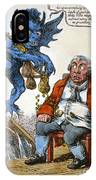 Cartoon: John Bull, C1814 IPhone Case