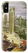 Roman Forum, 16th Century IPhone Case