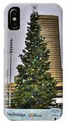 02 Happy Holidays From First Niagara IPhone Case