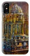 071 Famous Building Top In Chicago Illinois IPhone Case