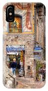 0755 Assisi Italy IPhone Case