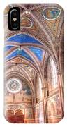 0957 Basilica Of Saint Francis Of Assisi IPhone Case