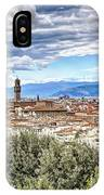 0960 Florence Italy IPhone Case