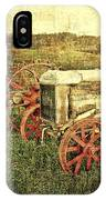 Vintage 1923 Fordson Tractors IPhone Case