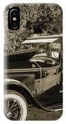 1924 Buick Duchess Antique Vintage Photograph Fine Art Prints 10 IPhone Case