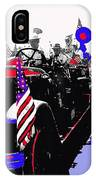 1930 American Lafrance Fire Truck Pro-viet Nam War March Tucson Arizona 1970 Color Added IPhone Case