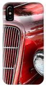 1935 Ford Sedan Grill IPhone Case