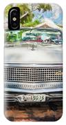 1959 Lincoln Continental Town Car Mk Iv Painted  IPhone Case