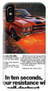 1970 Chevrolet Chevelle Ss 396 IPhone Case