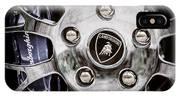 1997 Lamborghini Diablo Roadster  Wheel Emblem -1303ac IPhone Case