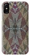 21970. Mosaic Rhythm Of Roman Baths. IPhone Case