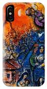 4dpictfdrew3 Marc Chagall IPhone Case