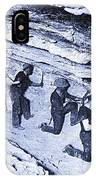 500-feet Level Sulphate Stope Tombstone Consolidated Mine 1904-2013 IPhone X Case