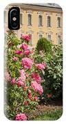 A Beautiful Rose Bush Castle Park 1 IPhone Case