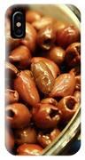 A Bowl Of Black Olives  IPhone Case