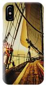 A Day On The Lake IPhone Case
