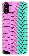 A Rainbow Of Chairs IPhone Case