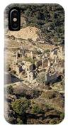 Abandoned Village Of Occi And The Coast Of Corsica IPhone Case