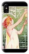 Absinthe Robette IPhone Case