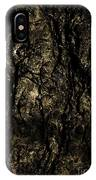 Abstract Gold And Black Texture IPhone Case