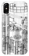 Abstract Industrial And Technology Background IPhone Case