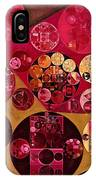 Abstract Painting - Antique Brass IPhone Case