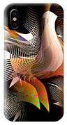 Abstract Peacock IPhone Case