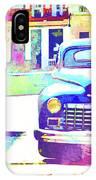 Abstract Watercolor - Havana Cuba Classic Car IIi IPhone Case