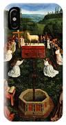 Adoration Of The Mystic Lamb IPhone Case