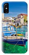 Adriatic Town Of Razanac Colorful Waterfront IPhone Case
