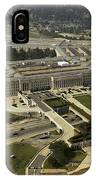 Aerial Photograph Of The Pentagon IPhone Case