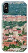 Aerial View Of The Beautiful University Of Colorado Boulder IPhone Case