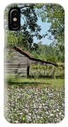 Alabama Cotton Field IPhone Case