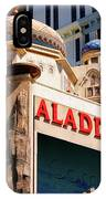 Aladdin Hotel Casino IPhone Case