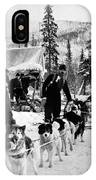 Alaskan Dog Sled, C1900 IPhone Case