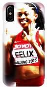 Allyson Felix IPhone Case