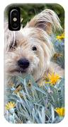 Amongst The Flowers IPhone Case
