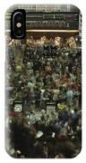An Elevated View Of Traders IPhone Case