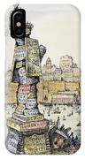 Anti-trust Cartoon, 1889 IPhone Case