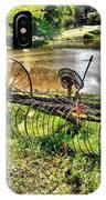 Antique Farm Equipment 1 IPhone Case