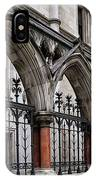 Arches Front Of The Royal Courts Of Justice London IPhone Case