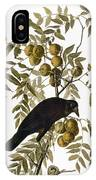 Audubon: Crow IPhone Case