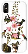 Audubon: Hummingbird IPhone Case