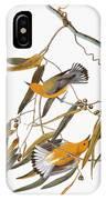 Audubon: Warbler IPhone Case